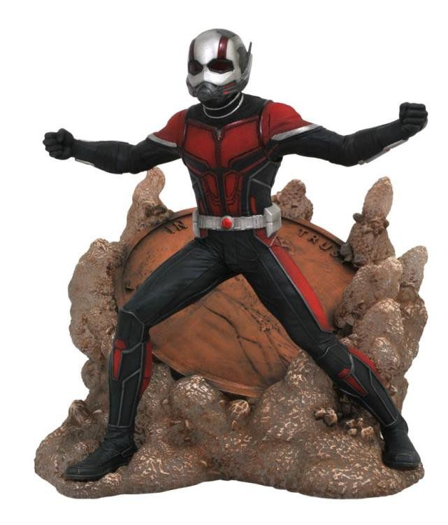 Estátua Homem-Formiga (Ant-Man): Homem-Formiga e a Vespa (Ant-Man and the Wasp) Marvel Comics Gallery - Diamond Select