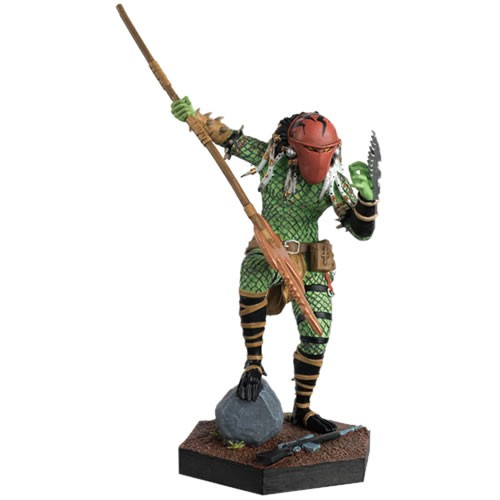 PRÉ VENDA: Estátua Homeworld Predator : The Alien & Predator Collection #26 Escala 1/16 -  Eaglemoss Publications