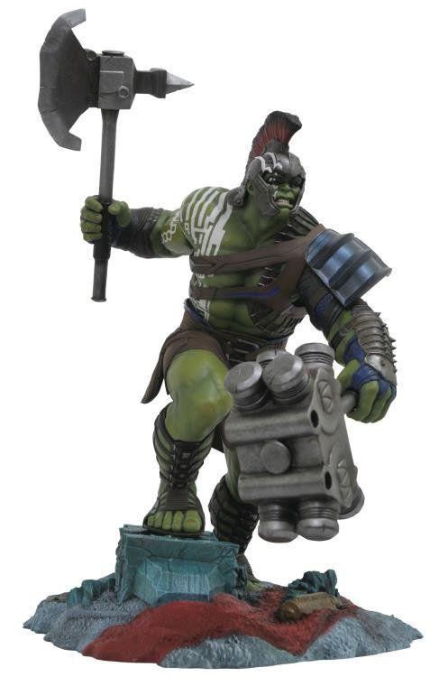 Estátua Hulk Gladiador (Gladiator): Thor Ragnarok Gallery Statue - Diamond Select