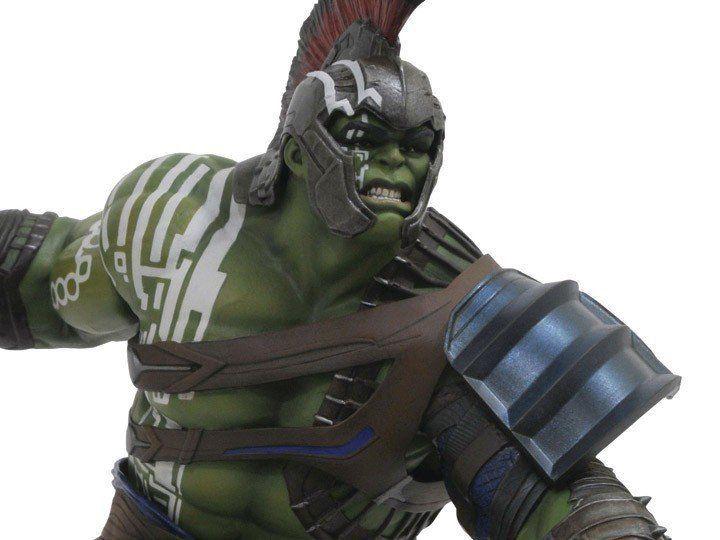 PRÉ VENDA: Estátua Hulk Gladiador (Gladiator): Thor Ragnarok Gallery Statue - Diamond Select