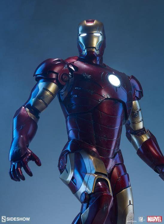 PRÉ VENDA: Estátua Iron Man Mark III Maquette (Homem de Ferro) - Sideshow Collectibles