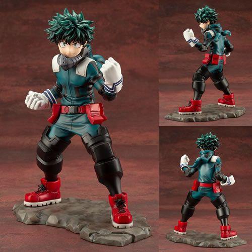 Estátua Izuku Midoriya: Boku no Hero Academia (My Hero Academia) ArtFX (Escala 1/8) - Kotobukiya
