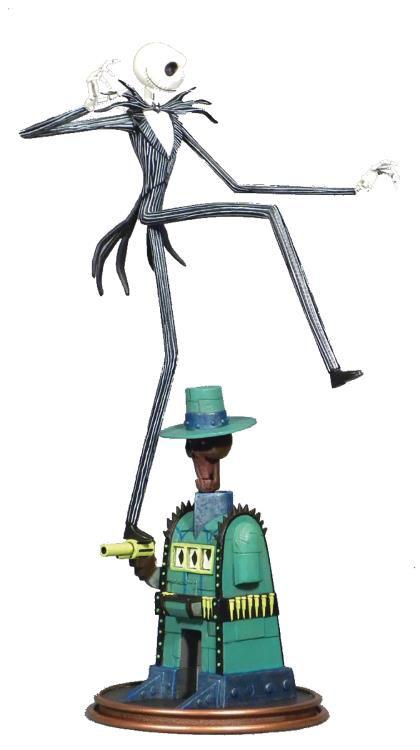 PRÉ VENDA: Estátua Jack Skellington: O Estranho Mundo de Jack (The Nightmare Before Christmas) - Diamond Select