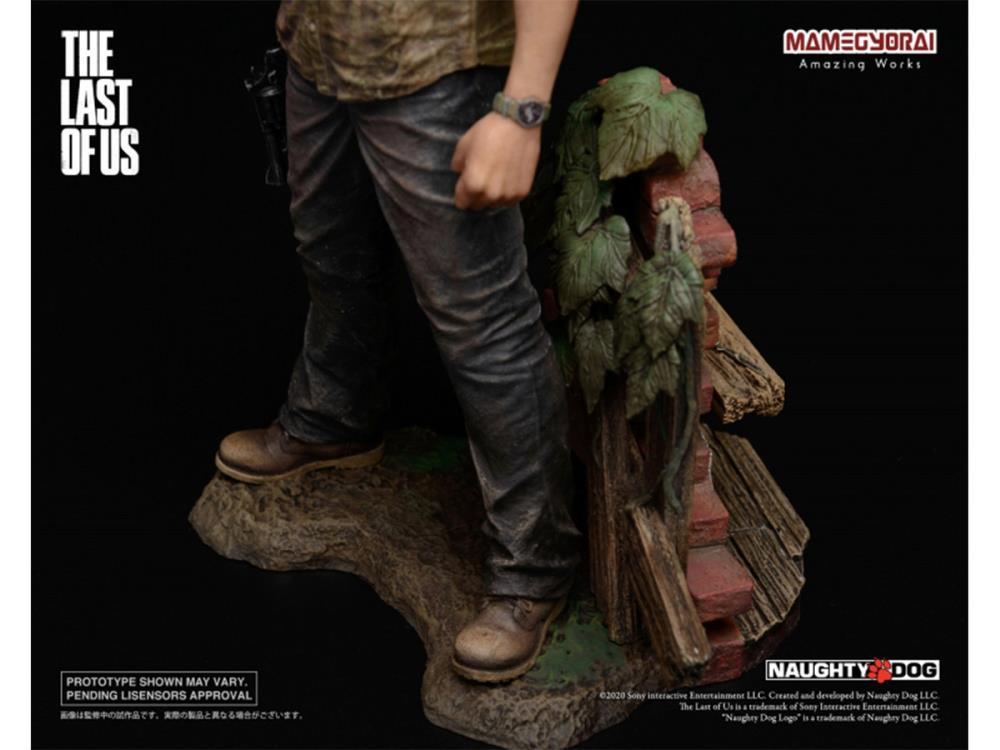 PRÉ VENDA: Estátua Joel e Ellie: The Last Of Us (Escala 1/9) - Mamegyorai  - Toyshow Geek e Colecionáveis Tudo em Marvel DC Netflix Vídeo Games