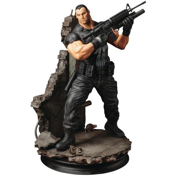 Estátua Justiceiro (Punisher): Marvel (Fine Art) 1/6 - Kotobukiya