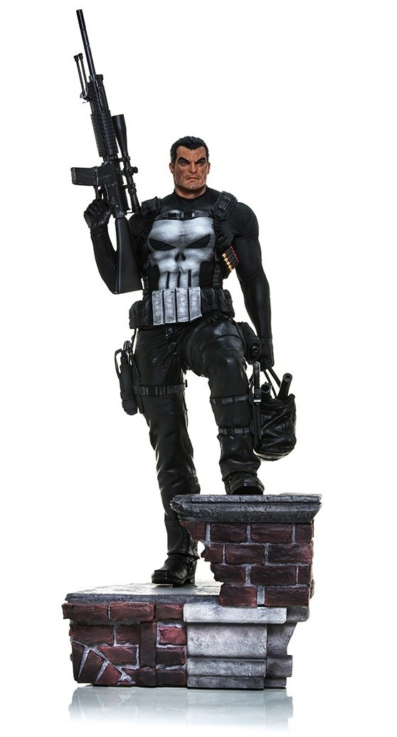 Estátua Justiceiro (The Punisher): Marvel Comics Legacy Replica Escala 1/4 - Iron Studios - CD