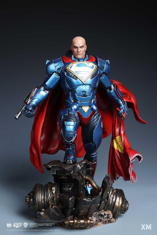 PRÉ VENDA: Estátua Lex Luthor Rebirth Renascimento DC Comics Escala 1/6 Limited Edition - XM Studios