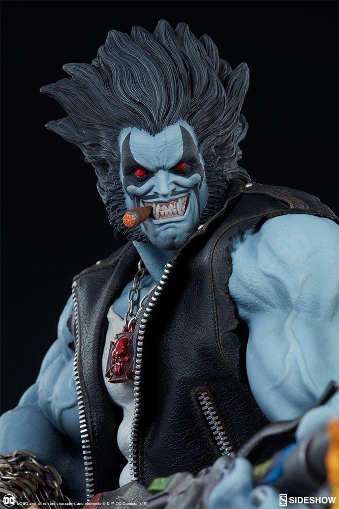 PRÉ VENDA: Estátua Lobo: DC Comics (Maquette) - Sideshow