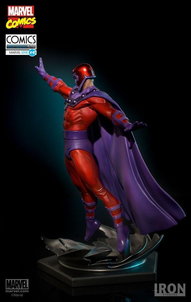 Estátua Magneto: Marvel Comics Série 4 Art Scale Escala 1/10 - Iron Studios
