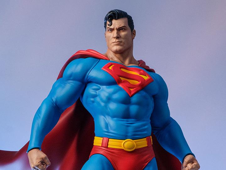 PRÉ VENDA: Estátua Maquete Super Homem Superman: DC Comics Escala 1/6 - Tweeterhead