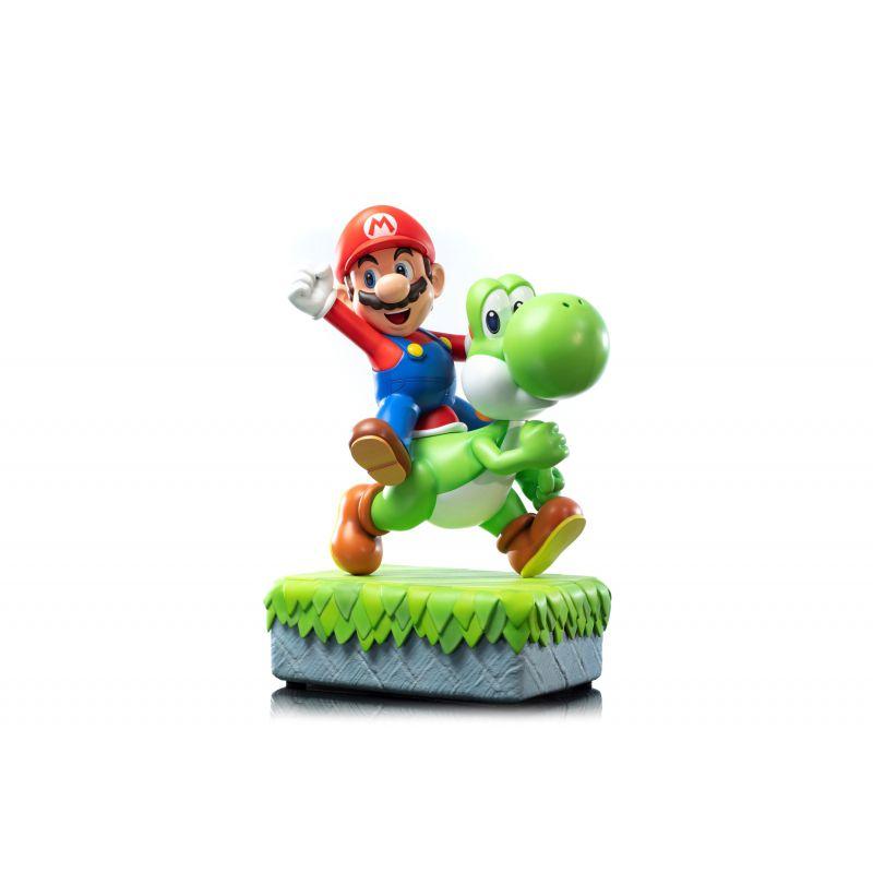 PRÉ-VENDA Estátua Mario e Yoshi: Super Mario - First 4 Figures