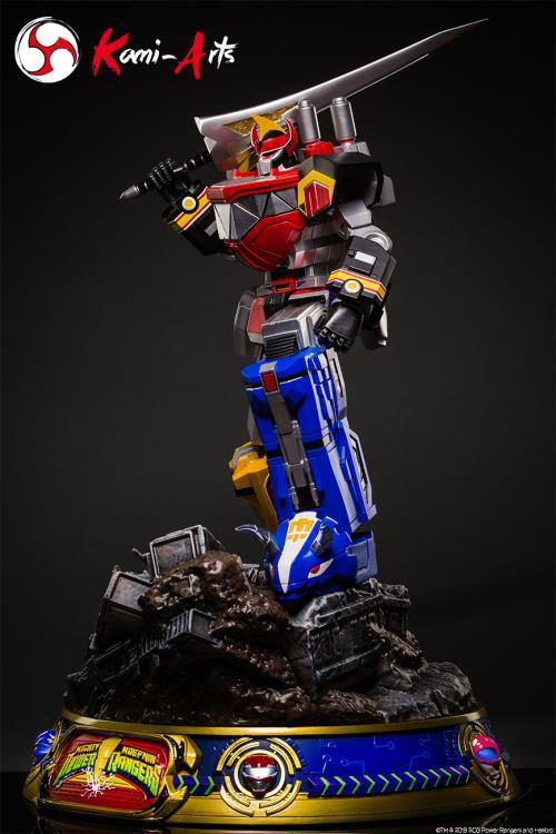 PRÉ VENDA: Estátua: Megazord: Power Ranger (Mighty Morphin) Edição Limitada - Kami - Arts
