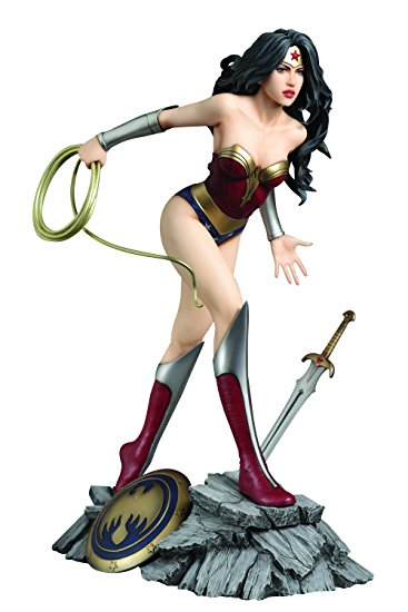Estátua Mulher Maravilha (Wonder Woman): DC Comics Fantasy Figure Gallery Escala 1/6 - Yamato