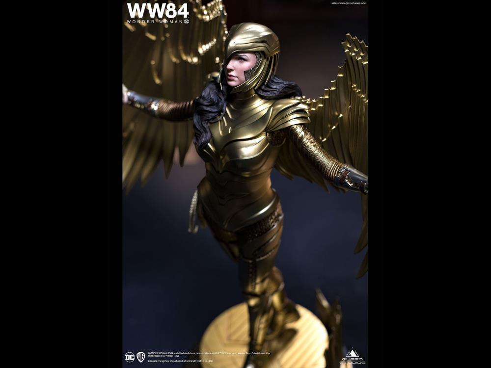PRÉ VENDA: Estátua Mulher Maravilha (Wonder Woman): Mulher Maravilha 1984 (Wonder Woman 1984) (Armadura Dourada) (Escala 1/4)