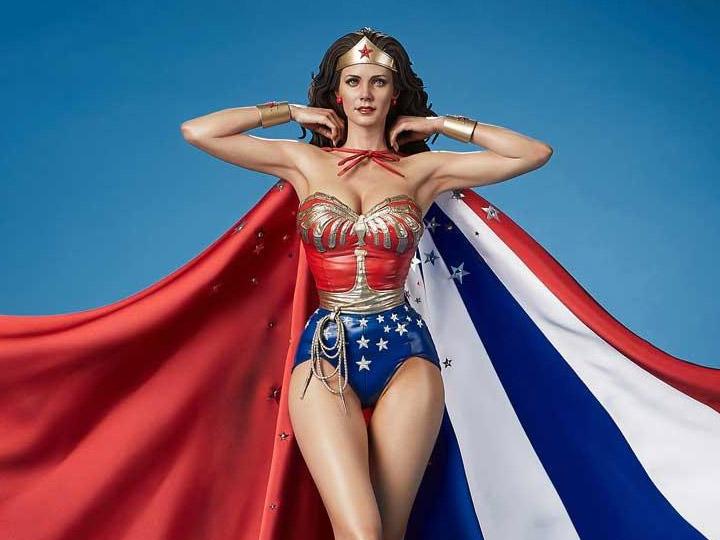 PRÉ VENDA: Estátua Mulher Maravilha Wonder Woman Museum Masterline TV Series Escala 1/3 Com Bônus - Prime 1 Studios