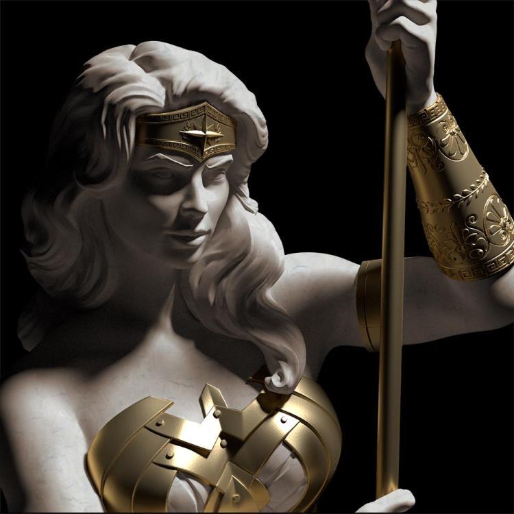 PRÉ VENDA Estátua Mulher-Maravilha (Wonder Woman): Princesa de Themyscira - Cryptozoic Entertainment