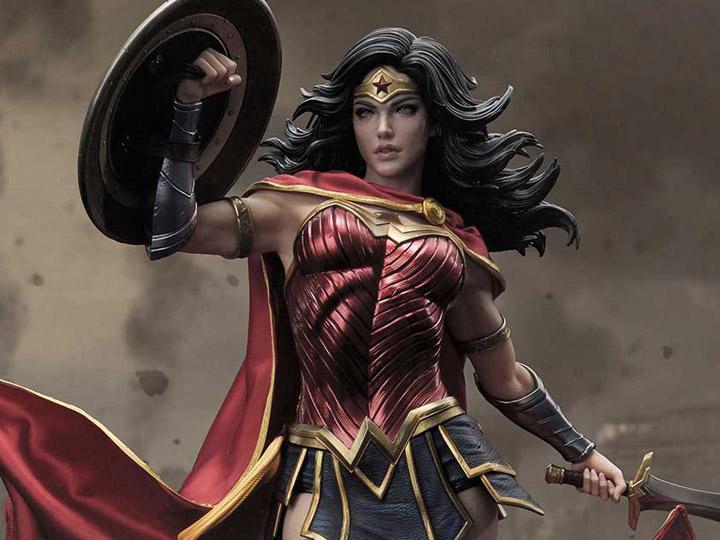 PRÉ VENDA: Estátua Mulher Maravilha Wonder Woman Rebirth Liga Da Justiça Justice League Ultimate Museum Masterline DC Comics Edição Limitada Limited Edition Escala 1/3  - Prime 1 Studio