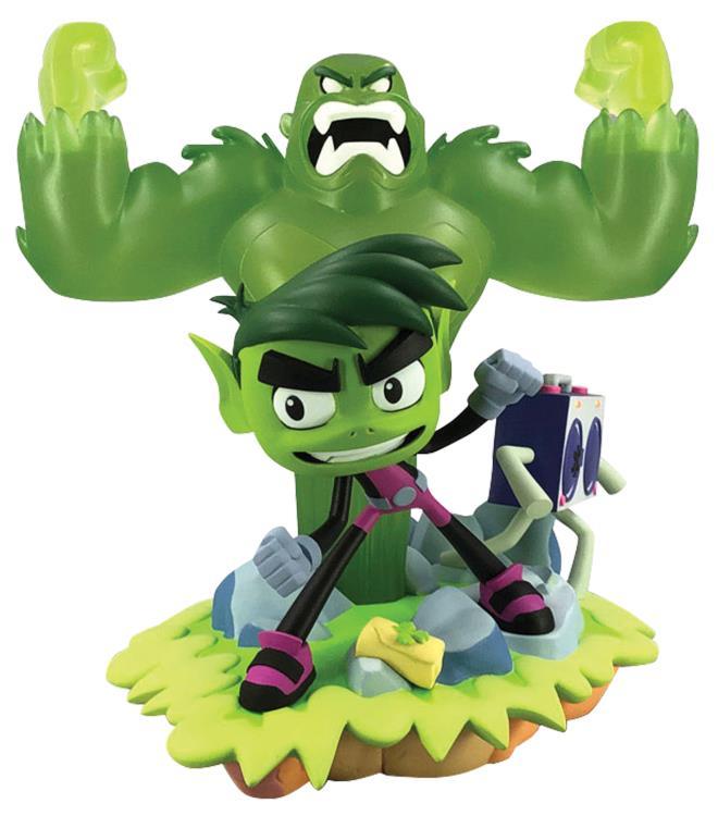 PRÉ-VENDA Estátua Mutano (Beast Boy): Jovens Titãs (Teen Titans Go!) - Diamond Select