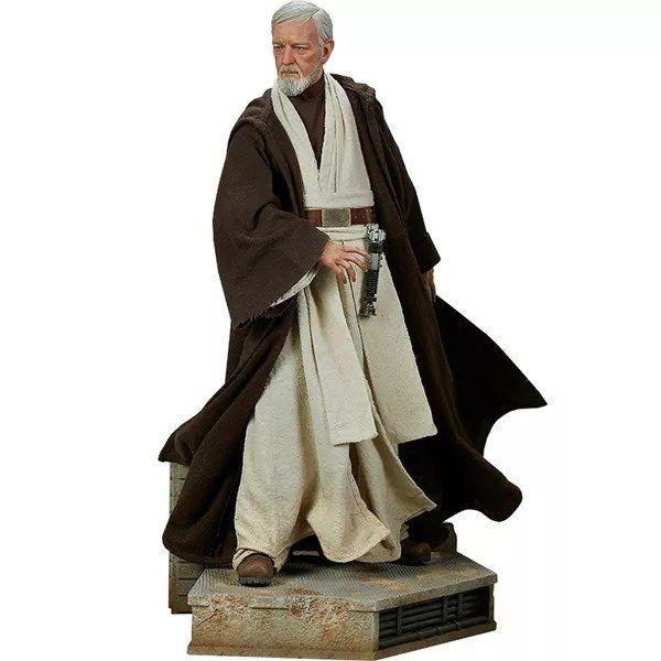 PRÉ VENDA: Estátua Obi-Wan Kenobi: Star Wars Episódio IV Uma Nova Esperança (A New Hope) Premium Format - Sideshow