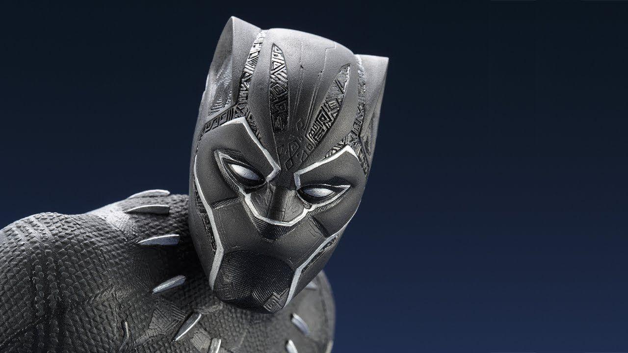 PRÉ VENDA: Estátua: Pantera Negra: (Black Panther) 1/6 - Kotobukiya