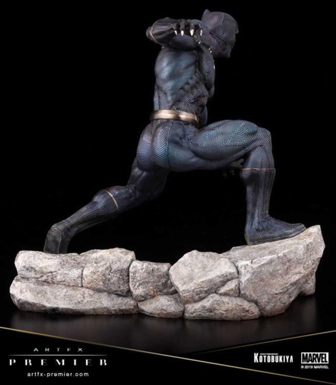 PRÉ-VENDA Estátua Pantera Negra (Black Panther): Marvel ArtFX Premier (Limited Edition) - Kotobukiya