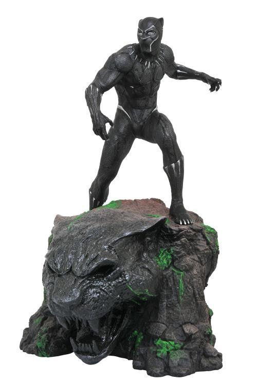 PRÉ VENDA: Estátua Pantera Negra (Black Panther): Marvel Milestones - Diamond Select