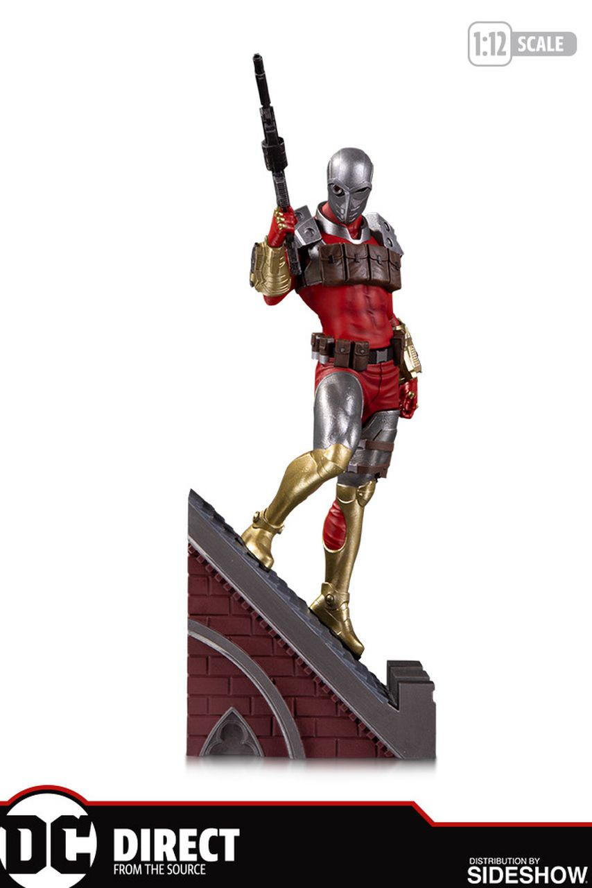 PRÉ VENDA: Estátua Pistoleiro (Deadshot) Multi-Part Statue (Batman Rogues Gallery) DC Comics - DC Collectibles