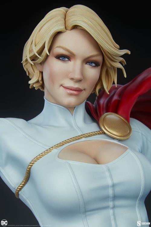 PRÉ VENDA: Estátua Power Girl Poderosa Terra 2 DC Comics Escala 1/3 Premium Format - Sideshow Collectibles