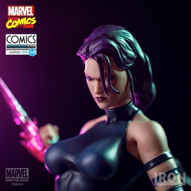 Estátua Psylocke: Marvel Comics Série 4 Art Scale Escala 1/10 - Iron Studios - CD
