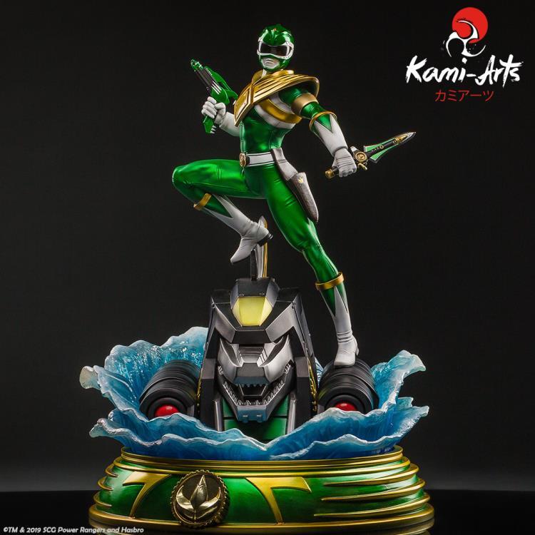 PRÉ VENDA: Estátua Ranger Verde Green: Mighty Morphin Power Rangers - Kami Arts