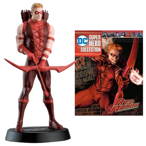 PRÉ VENDA: Estátua Red Arrow: DC Super Hero Best Of Figurine Collection #47 - Eaglemoss Publications