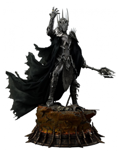 PRÉ VENDA: Estátua Sauron (The Dark Lord): O Senhor dos Anéis (The Lord of the Rings) Premium Masterline (Escala 1/4) - Prime 1 Studio