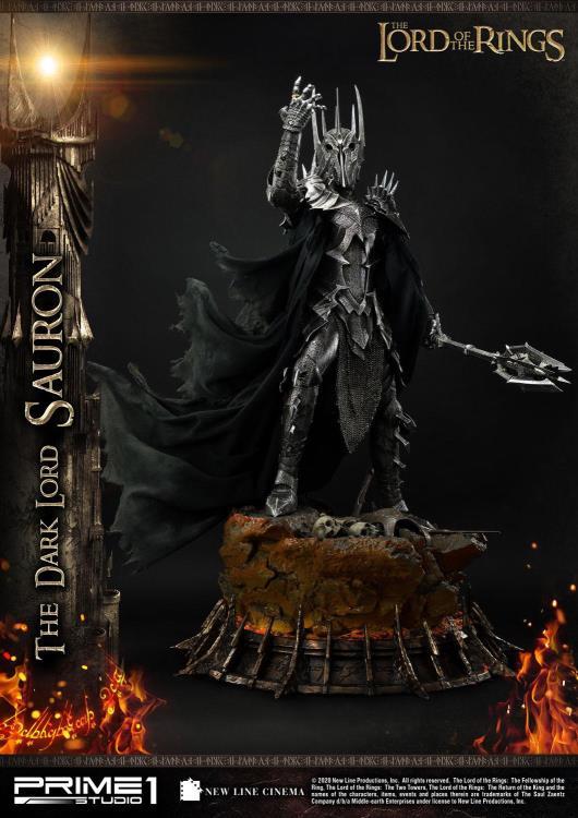 PRÉ VENDA: Estátua Sauron (The Dark Lord): O Senhor dos Anéis (The Lord of the Rings) Premium Masterline (Escala 1/4) - Prime 1 Studio