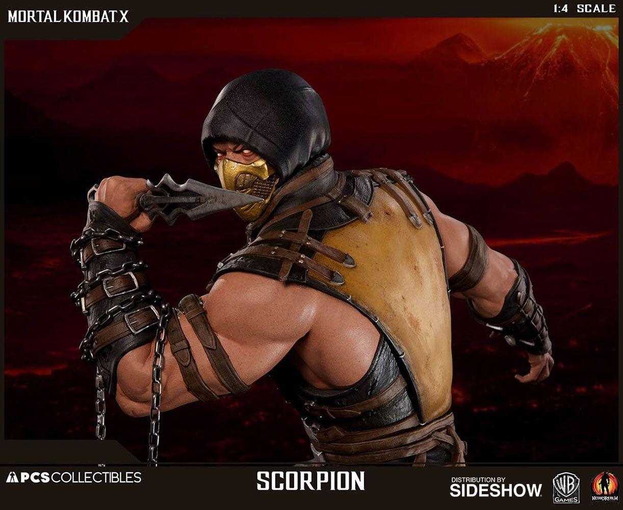 PRÉ VENDA: Estátua Scorpion: Mortal Kombat X  (Escala 1/4) - Pop Culture Shock