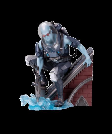 PRÉ VENDA: Estátua Senhor Frio (Mr. Freeze) Multi-Part Statue (Batman Rogues Gallery) DC Comics - DC Collectibles