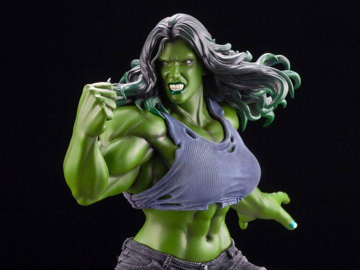 Estátua She-Hulk (Marvel ArtFX Premier) Edição Limitada - Kotobukiya