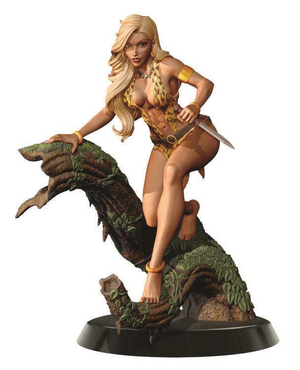 PRÉ VENDA Estátua Sheena: A Rainha das Selvas - Escala 1/6  (Edição Limitada) - Dynamite Entertainment