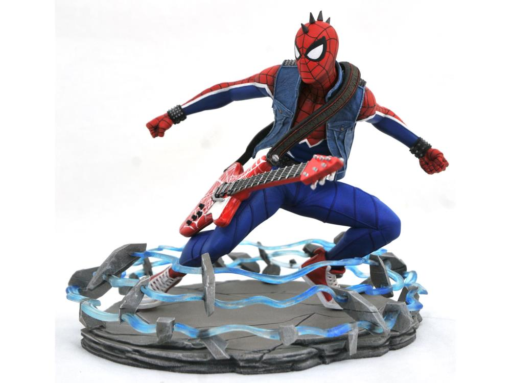 PRÉ-VENDA: Estátua Spider-Punk: Marvel's Spider-Man 2018  - DIAMOND SELECT TOYS