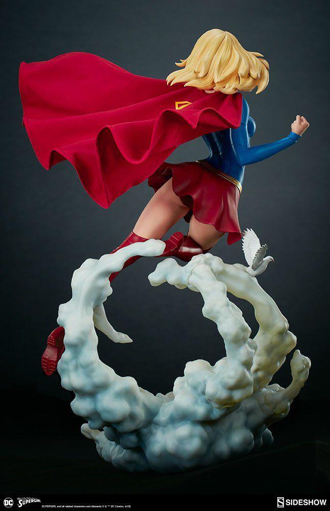 PRÉ VENDA: Estátua Supergirl: DC Comics Premium Format (Escala 1/4) - Sideshow