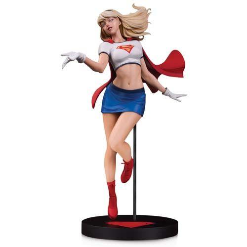 PRÉ VENDA Estátua Supergirl: DC Designer Series (By Stanley Lau) DC Collectibles