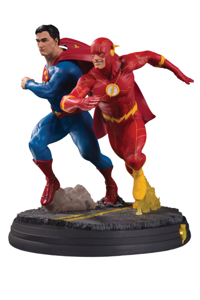 PRÉ VENDA: Estátua Superman e Flash (DC Gallery) DC Comics - DC Collectibles