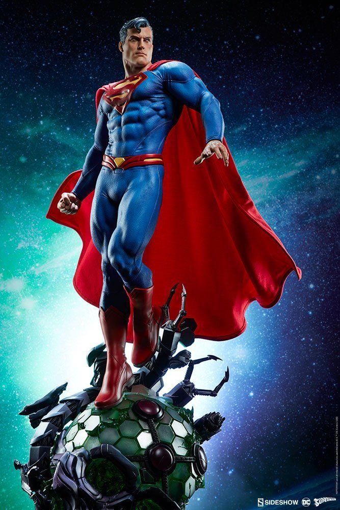 Estátua Superman (Super-Homem): DC Comics Premium Format - Sideshow Collectibles
