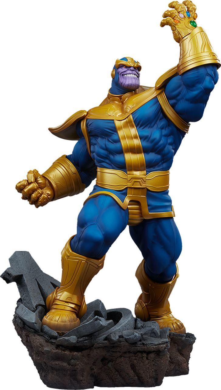 PRÉ VENDA Estátua Thanos (Clássico): Marvel - Escala 1/5 - Sideshow Collectibles