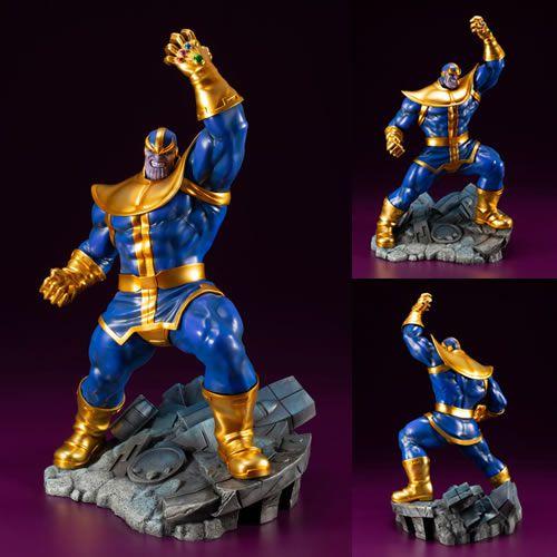 Estátua Thanos: Vingadores (Avengers Series) ArtFX+ (Escala 1/10) - Kotobukiya (Apenas Venda Online)