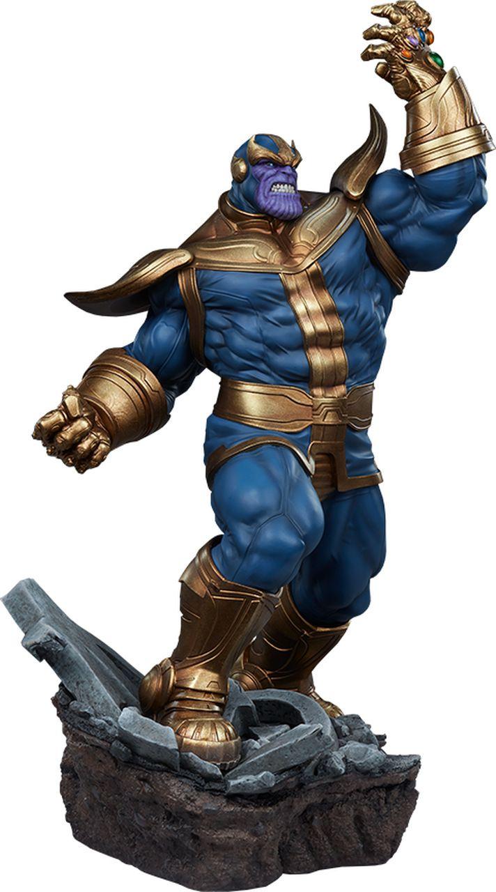 PRÉ VENDA Estátua Thanos (Moderno): Marvel - Escala 1/5 - Sideshow Collectibles