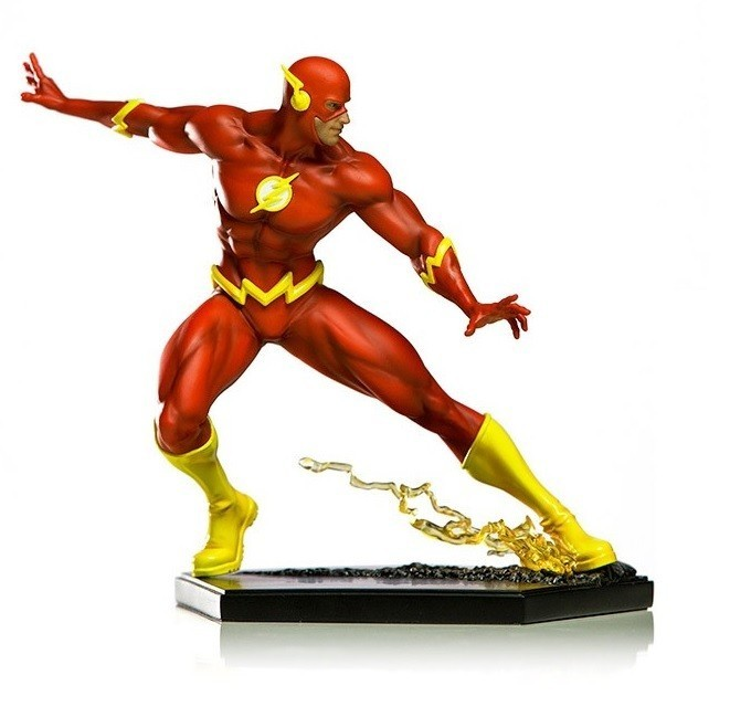 Estátua The Flash: DC Comics (By Ivan Reis) Art Scale Escala 1/10 - Iron Studios
