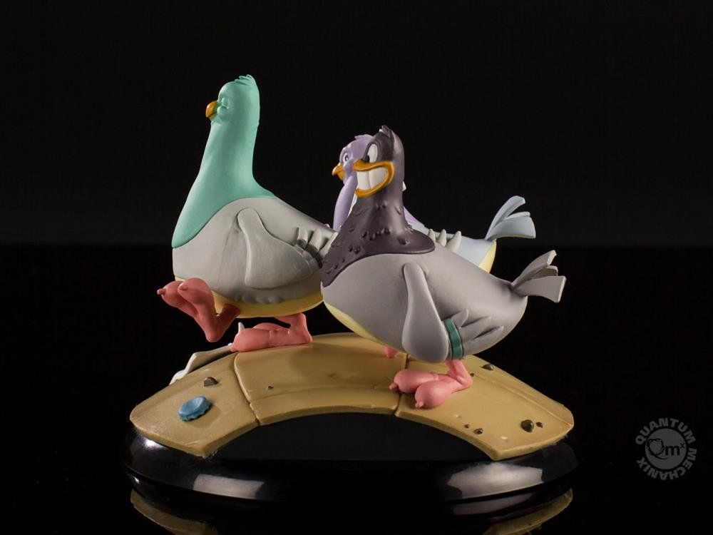 PRÉ VENDA: Estátua The Goodfeathers: Animaniacs (Q-Fig MAX) - Quantum Mechanix