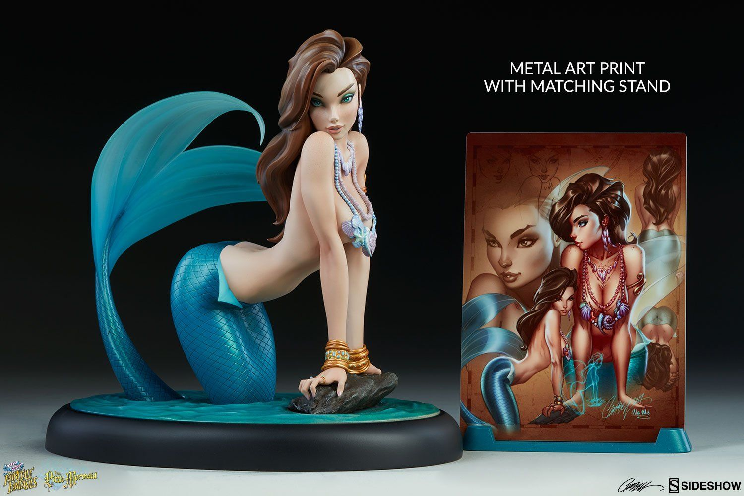 PRÉ VENDA: Estátua The Little Mermaid: Fairytale Fantasies Collection - Sideshow Collectibles