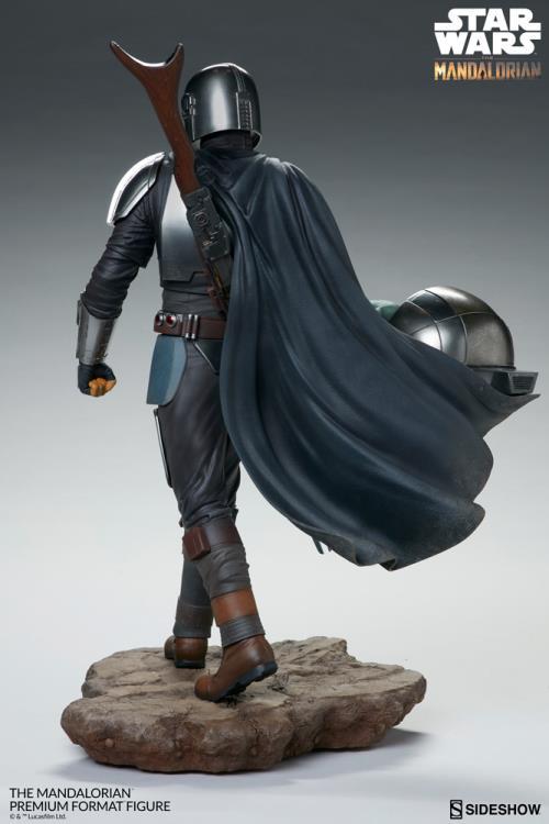 PRÉ VENDA: Estátua The Mandalorian: Star Wars (Premium Format) - Sideshow Collectibles