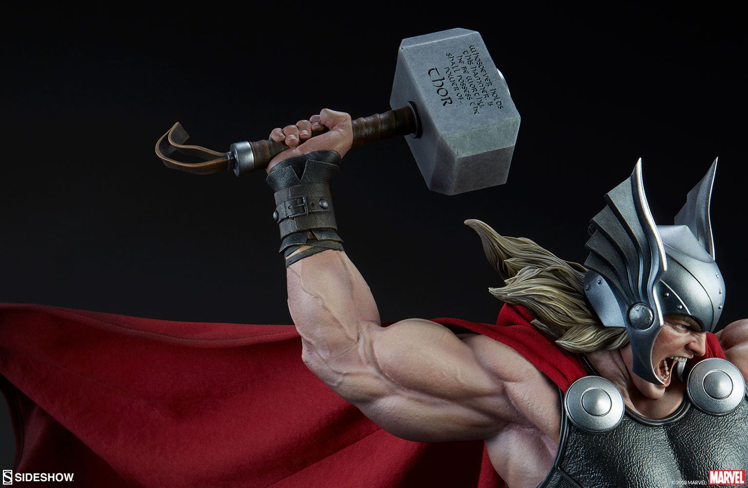 Estátua Thor (Breaker of Brimstone): Marvel Collection Premium Format - Sideshow (Apenas Venda Online)